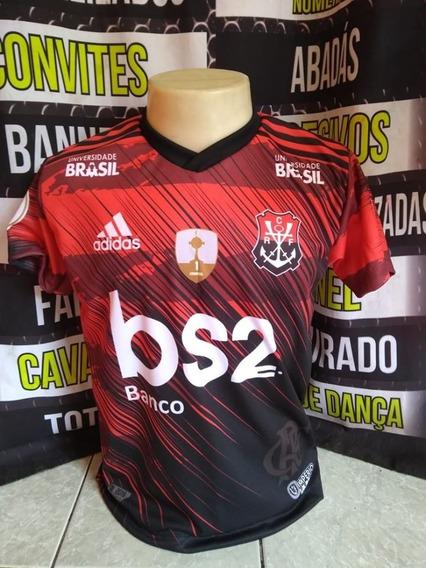 Camiseta Personalizada Flamengo Com Seu Nome E Numero