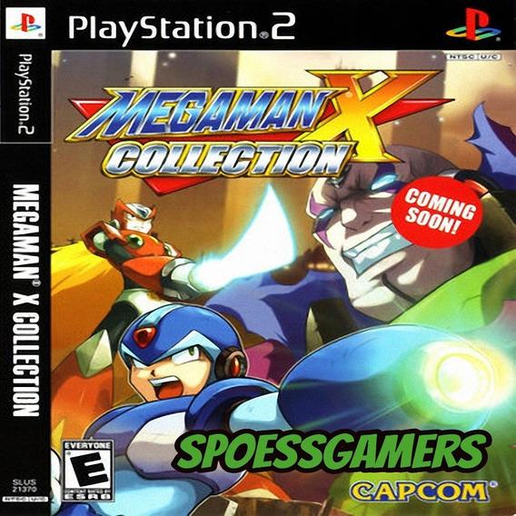 Megaman X Collection Ps2 Desbloqueado Patch