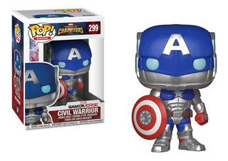 Funko Pop Games Contest Of Champions - Civil Warrior 299