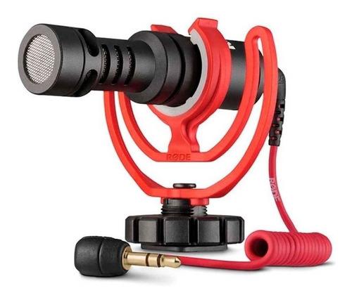 Imagen 1 de 2 de Micrófono Rode VideoMicro condensador cardioide negro