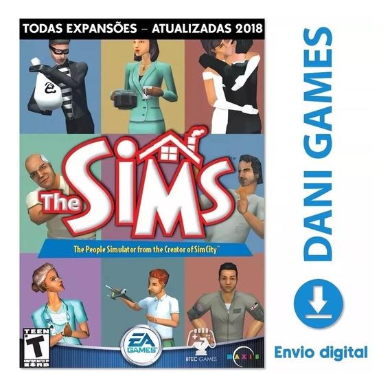The Sims 1 Pc Coleção Completa Expansões Português - Digital