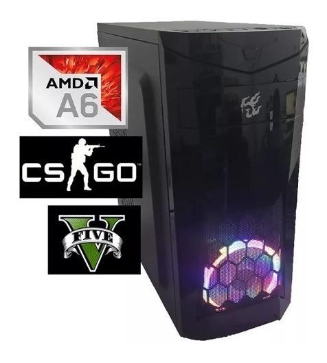 Cpu Gamer Barata Amd A6 7480 4gb Ram Ssd120gb Radeon R5c/led