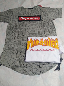 Pack Polera Supreme Y Thrasher Talla S Cod 14