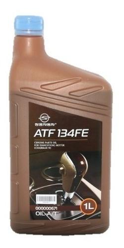 Imagen 1 de 6 de Aceite Atf 134fe Caja Dc 7a/t Original Ssangyong 1 Litro