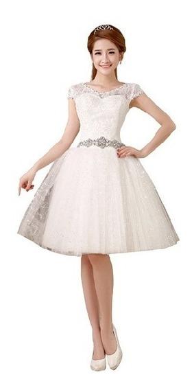 Vestido Festa Debutante 15 Anos Branco Com Tule Sku 090