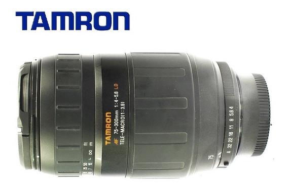 Lente Tamron 70-300mm F/4-5.6 Ld Macro P/ Pentax - Usada