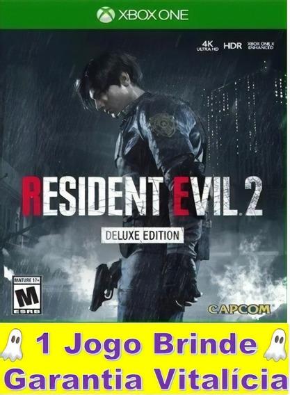 Resident Evil 2 Xbox One Midia Digital Garantia Vitalícia