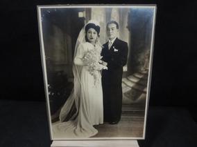 Foto Antiga Em Preto E Branco