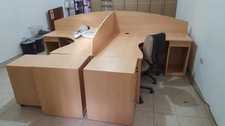 Mueble Puesto De Trabajo Cuadruple