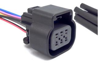 Conector Plug 06 Vias Corpo Borboleta Agile Cruze Montana