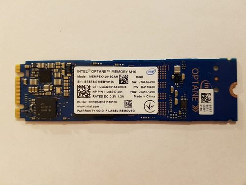 Optane 16gb Intel Memoria Ssd Flash Hdd 2280 Pci-e 80mm Nvme