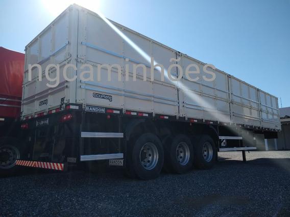 Carreta Graneleira Randon 2019 0km Ls Vermelha Graneleiro