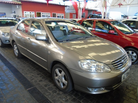 Toyota Corolla Xli 1.6 Cinza 2004