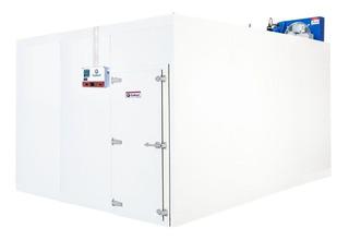 Câmara Fria Gallant 3x4 Congelado Piso Cond Danf 220v Trifá