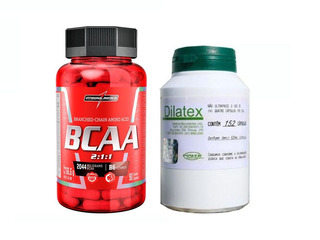 Dilatex 152 Cáps + Bcaa 90 Caps - Integralmedica