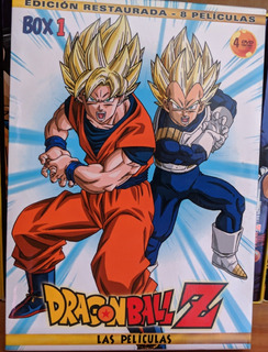 Dragon Ball Z Movies Box 1