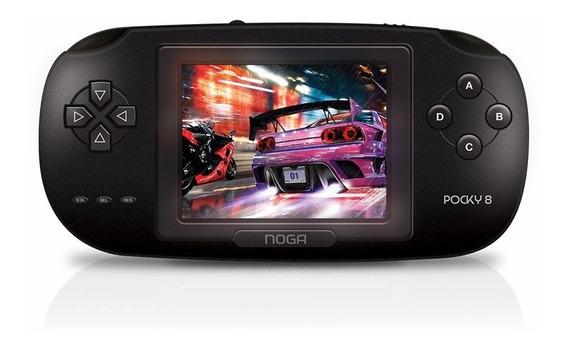 Consola De Juegos Portátil Noganet Pocky 8 Lcd 3.0 Bateria