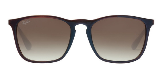 Óculos Sol Ray Ban Chris Rb 4187 Marrom Original Feminino
