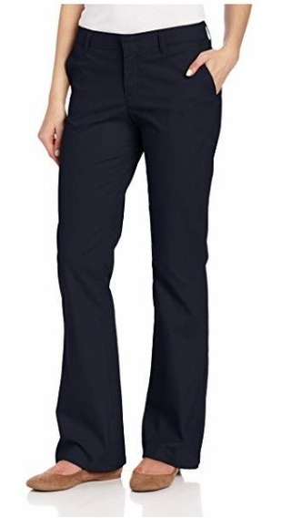 Pantalon Dickies Dama Elastica Uso Apto Trabajo Negro