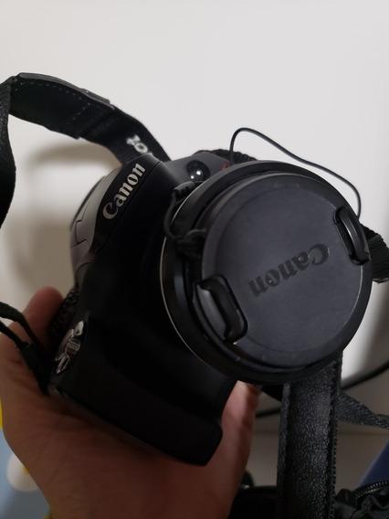 Canon Sx 40 Hs Na Caixa E Com Bolsa