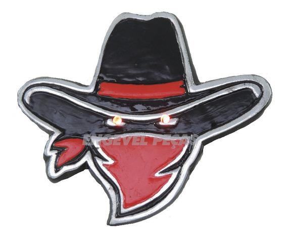 Cowboy Lenço Led Para Caminhão Iluminado Bivolt 12/24