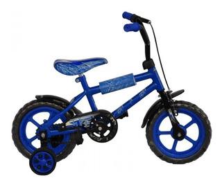 Bici Mio Rodado 12 Infantil Para Niño Con Rueditas Diseños
