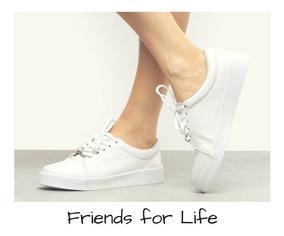 Tênis Feminino Confort, Branco - Bebecê Original