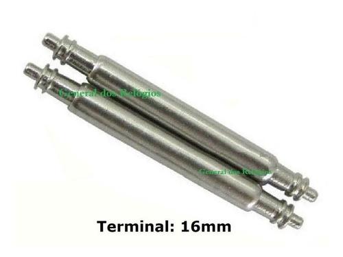 Pinos Pulseira G-shock Springs Bar 16mm Aço Inox Dw-9052
