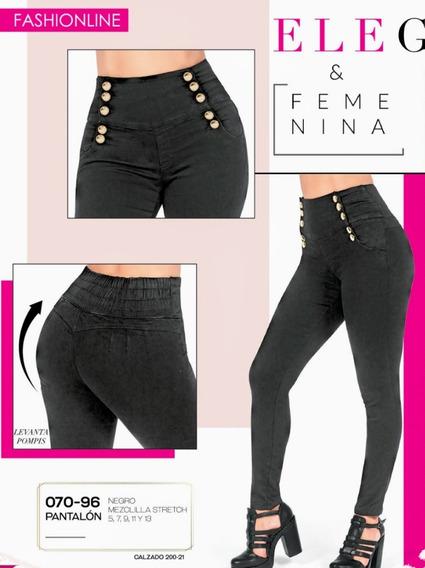 Pantalón Negro 070-16 Cklass Primavera-verano 2020