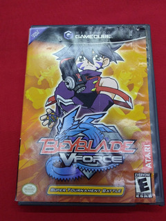 * Longaniza Games * Game Cube Bey Blade V Force