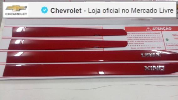 Jogo Frisos Lateral Onix Vermelho 13/18 Gm 98594058