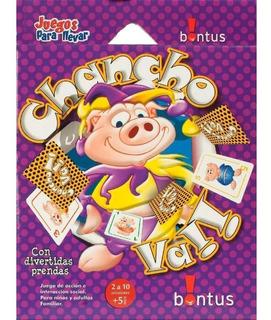 Juego Cartas Para Llevar Chancho Va! Bontus / Juega Bonito 6