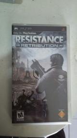 Jogo Psp Resistance Retribution Original E Lacrado
