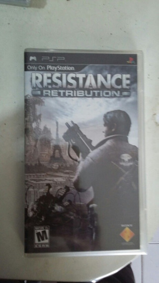Jogo Psp Resistance Retribution Original E Lacrado