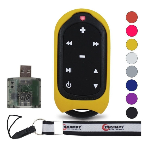 Controle Longa Distância Taramps Usb Cd Sony Kenwood Cores