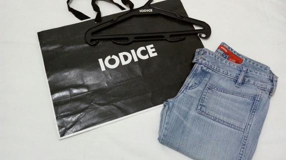 Calça Jeans Casual Iodice Tam. 40 Como Novo Cabide Sacola