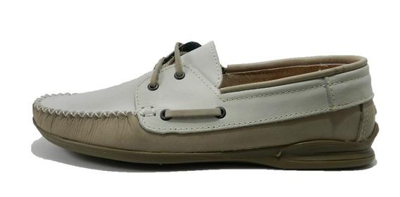 Zapato De Vestir Morris Nobuk Vison/tiza 1042