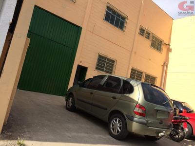 Galpão Comercial Para Locação, Sertãozinho, Mauá - Ga1287. - Ga1287