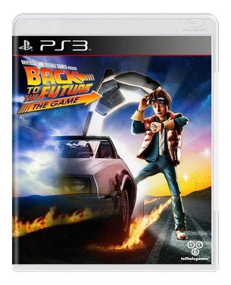 Back To The Future The Game Ps3 Mídia Física Pronta Entrega