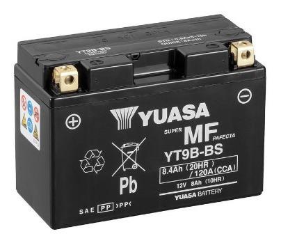 Batería De Moto Yuasa Yt9b-bs. En San Borja, Envío.