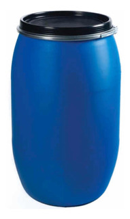 Pipote Plástico Azul 200 Lts