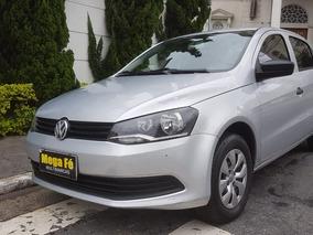 Volkswagen Voyage 1.6 Msi Trendlin Flex Prata Ipva Pago 2015