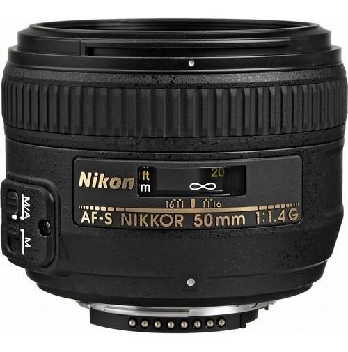 Lente Nikon 50mm F/1.4g Af-s Fx Nota Fiscal