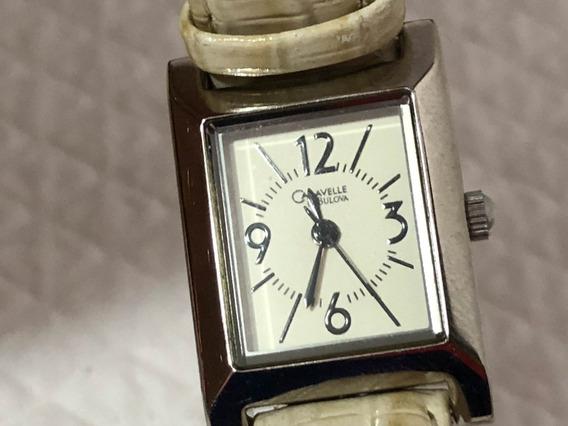 Reloj Dama Bulova Carabelle Muy Bonito Y Fino Original
