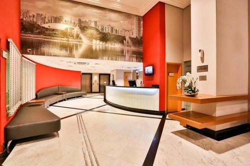 Imagem 1 de 14 de Studio Com 1 Dormitório À Venda, 27 M² Por R$ 268.000 - Indianópolis - São Paulo/sp - St0046