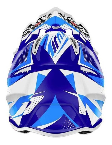 Capacete Airoh Motocross Aviator 2.2 Flash Blue