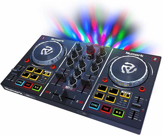 Controladora Numark Party Mix Serato Dj Lite Partymix
