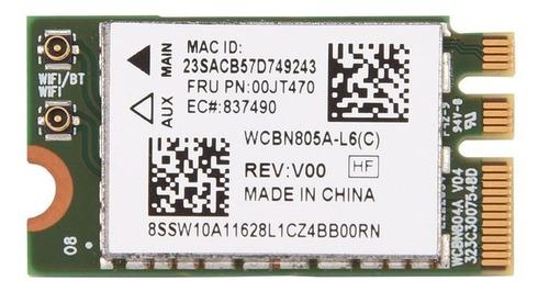 Imagem 1 de 1 de Wireless Wifi 802.11ac Bluetooth 4.1 Ngff M.2 Dual Band 5ghz