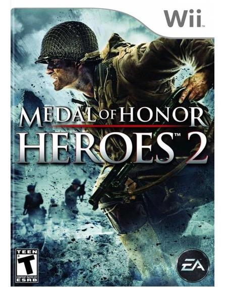 Jogo Medal Of Honor Heroes 2 - Nintendo Wii Física Usado