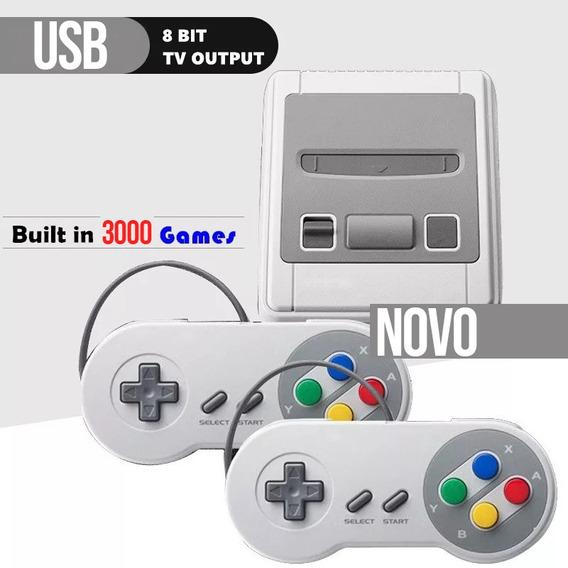 Video Game 2 Controles Cabo Av Conecta Varios Jogos Classic